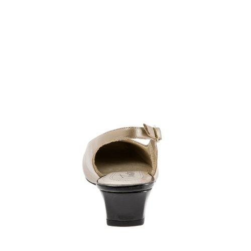 Goldwash Black Patenttia Pehmeä Pearl Pumppu Lapsi Dea Sorkat Slingback Naisten 4xCqv6q