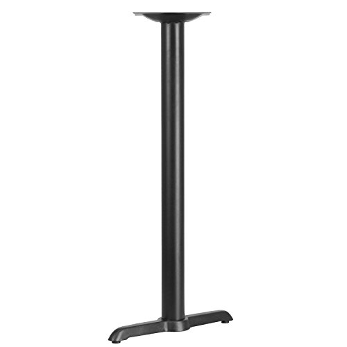 Iron Bar Table Base - Flash Furniture 5'' x 22'' Restaurant Table T-Base with 3'' Dia. Bar Height Column