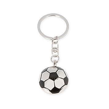 Llavero metálico pelota Futbol con espejo - Pack de 6 ...