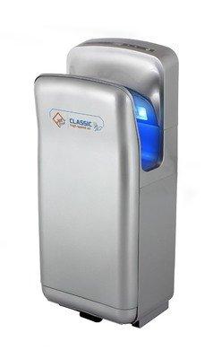 Secador de manos (Jet Dryer Classic - Rápido y potente secador de manos con hecha a mano en seco suelo Sistema - Plata: Amazon.es: Industria, ...