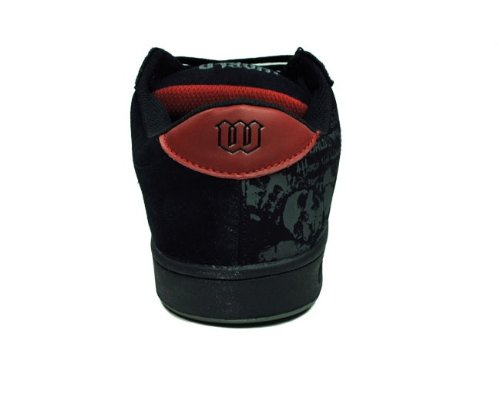 World Industries Herren Basic Se Schwarz / rot Doomsday Sneakers