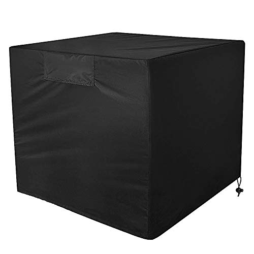 Air Conditioner Cover - Heavy Duty Outdoor AC Unit Cover Durable and Water Resistant for Winter Rain Snow Wind Dust Protection (Central Air Cover)