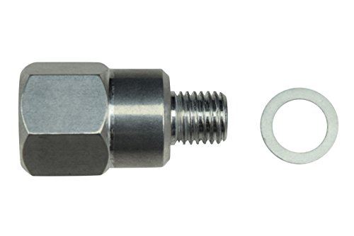 LS Engine Swap M12 1.5 Adapter to 3/8 NPT Coolant Temperature Sensor Water LS1 LSX LS3, 551179