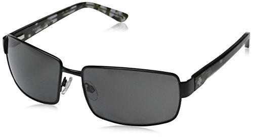 Spy Optic Men's Avenger Polarized Matte Black/Grey Tortoise - Tortoise Sunglasses Spy