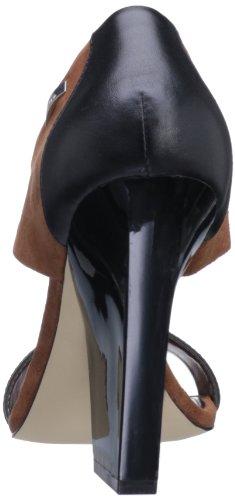 Calvin Klein Women's Caryn Suede Nappa Wedge Pump
