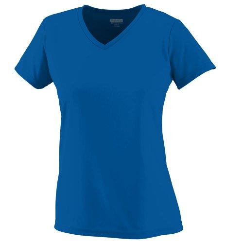 Augusta Sportswear Wicking T-Shirt, Medium, Royal (Training Dry Play)