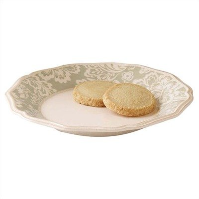Lenox Accoutrements Charlotte Green 9-Inch Accent Plate -