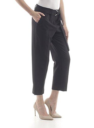 W68091t7896 Pantalone Liu Jeans Donna Nero Jo jo Liu EqIpYw5