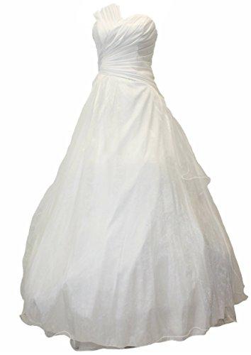 34 Langes Abendkleid Cocktailkleid Gr JuJu Ballkleid Kleid amp; Christine Taft A2013 weiss HEREgwP6cq