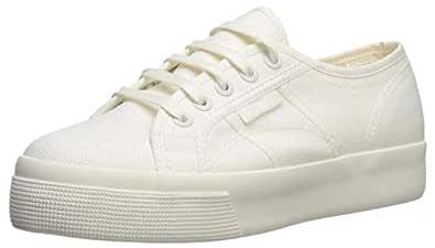 Superga Women's 2730 COTU Sneaker White Avario 36 M EU (6 US)
