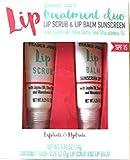 Lip Treatment Duo Lip Scrub and Lip Balm Sunscreen by Trader Joe's