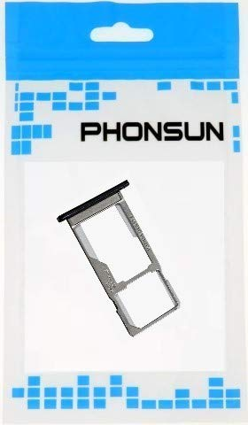PHONSUN Single SIM Card + SD Card Tray for Motorola Moto G6 Play XT1922 (Indigo Blue)
