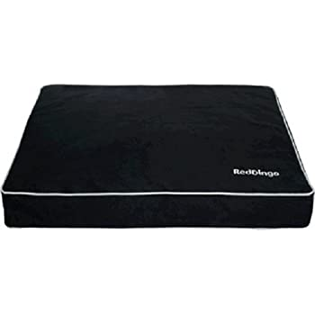 Red Dingo Pet Bed Mattress, Small, Black