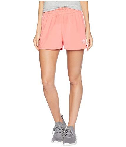 バレーボールアクロバット遡る[adidas(アディダス)] レディースショーツ?短パン 3-Stripes Shorts Semi Flash Red L