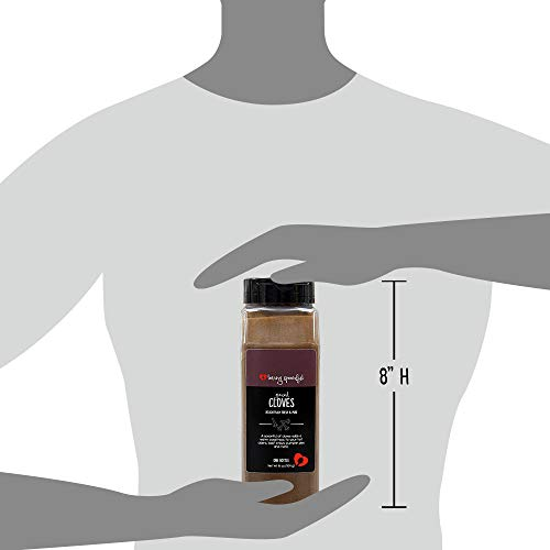 Loving Spoonful 16oz (454g) Premium Ground Cloves | Food Service 1lb Bulk Size (Bottle) by Loving Spoonful (Image #3)