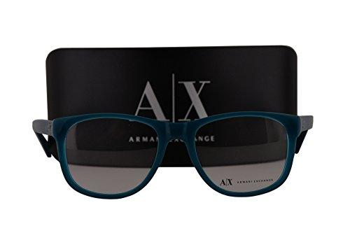 Armani Exchange AX3002 Eyeglasses 51-18-145 Poseidon w/Demo Clear Lens 8034 AX - New Armani Collection Exchange