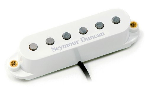 Seymour Duncan STK-S9 Hot Stack Plus - Bridge Pickup White Bridge
