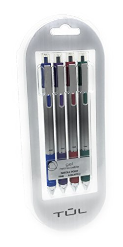 TUL Retractable Needle Assorted Colors