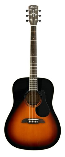 Alvarez RD26SB Regent Series Guitar, Sunburst/Gloss (Alvarez Acoustic Electric Guitar)
