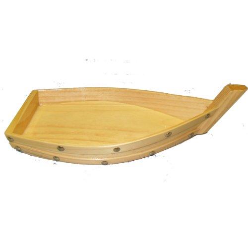 JSKY Wooden Sushi Boat 12 L