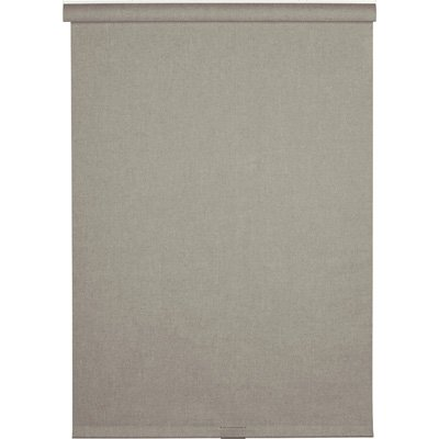 Gray Linen-Look Thermal Fabric Cordless Roller Shade, 66 in. Length (Price Varies by - Price Shades