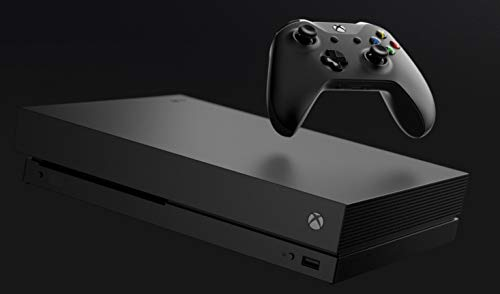 Microsoft Xbox One X 1TB Console with Wireless Controller: Xbox One X Enhanced, HDR, Native 4K, Ultra HD (2017 Model)