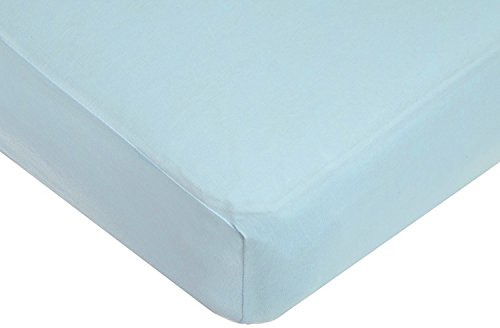 American Baby Company Supreme 100% Cotton Jersey Knit Fitted Crib Sheet for Standard Crib and Toddler Mattresses, (Toddler Bed Fitted Sheet)