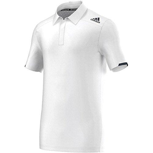 adidas Climachill Polo shirt men M61066 white