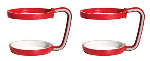 Tervis Handle for 24 oz Tumbler and Mug, Red 2 Piece Set