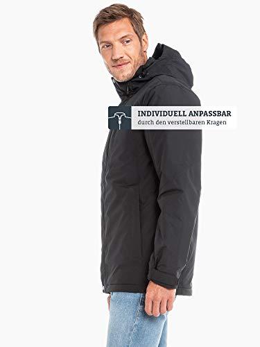 Schöffel Insulated Jacket Belfast2, wind- und wasserdichte Winterjacke, warme und atmungsaktive Outdoor Jacke mit höchstem Tragekomfort Herren, black, 48 4