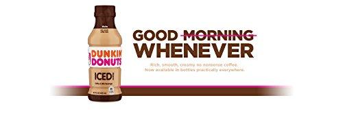 Dunkin' Donuts Mocha Iced Coffee Bottle, 13.7 fl oz