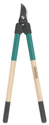 Gilmour 155 Bypass Lopper 1-1/4 Inch Cutting Capacity Wood Handles