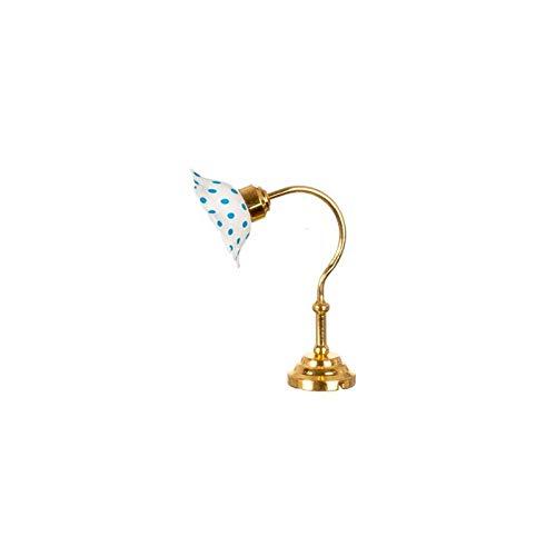 (Aztec Imports, Inc. Dollhouse Miniature Table Lamp/Blue Shade/n.e.)