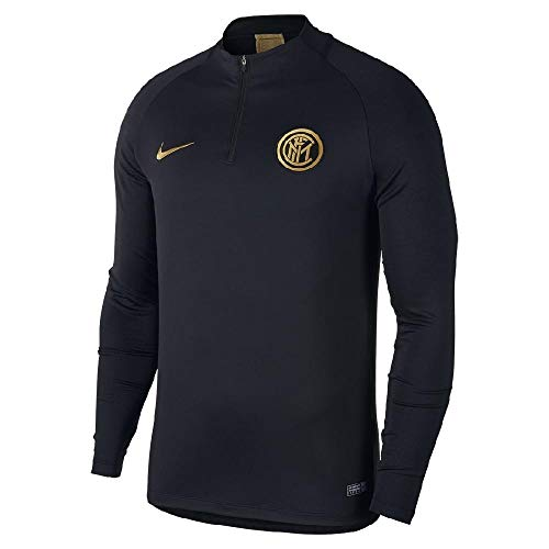 Nike 2019-2020 Inter Milan Drill Training Top (Black)