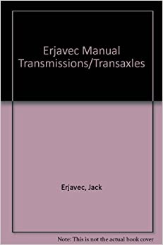Book Manual Transmissions and Transaxles