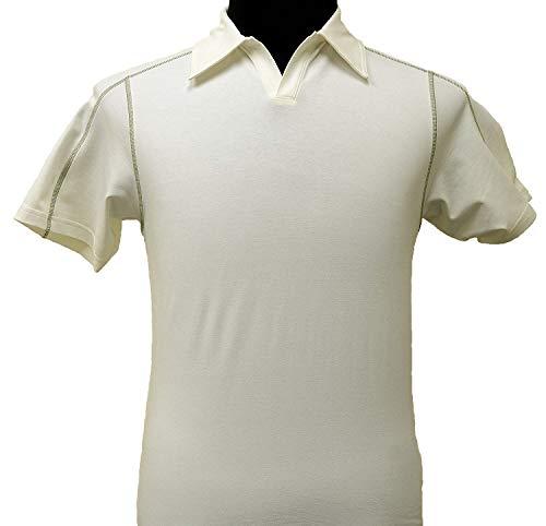 Patagonia - Slim Fit - Stretch Polo shirts (RAW LINIEN, L)