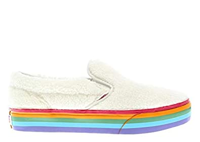 21cf08307b2 Image Unavailable. Image not available for. Color: Vans Kids Classic Slip-On  Platform ...