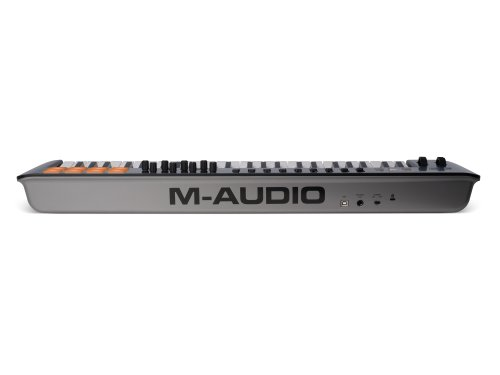 M-Audio Oxygen 49 MKIV | 49-Key USB MIDI Keyboard & Drum Pad Controller (8 Pads / 8 Knobs / 9 Faders), VIP Software Download Included - Image 1