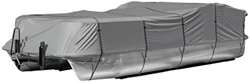 Heavy Duty 300D Polyester Gray Trailerable Pontoon Boat