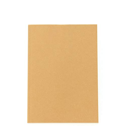 MUJI Blank Notebook a Book Unruled 184sheets 2018 (Best Muji Products Stationery)