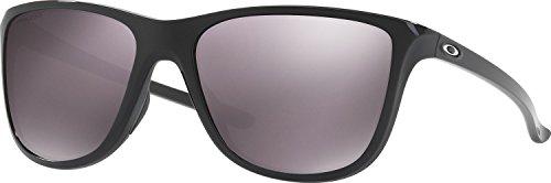 Oakley Women's Reverie Polarized Square Sunglasses, Polished Black, 55.01 - Lifestyle Women's Sunglasses Oakley