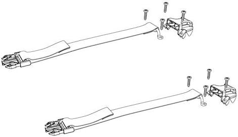 Top Side Buckle Ends With Hardware - 2 Bakflip Service Kit