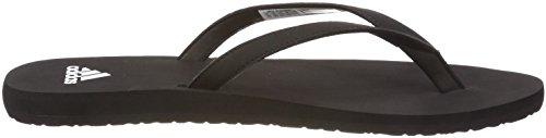 adidas Eezay Essence W, Chaussures de Plage et Piscine Femme Noir (Core Black/ftwr White)