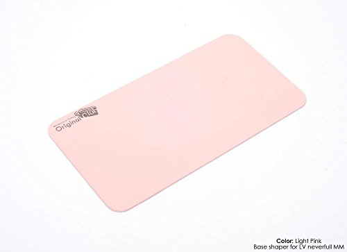 Wood Base Shapers for Purses and Tote Bags in Light Pink Color, Handcrafted MDF Wood Custom Size Base Shapers ( Express Shipping )