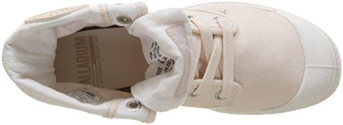 A Sneaker blanc L25 Baggy Alto marshmallow Palladium Whisper Donna Collo Rosa Pink p1E4xE5wq