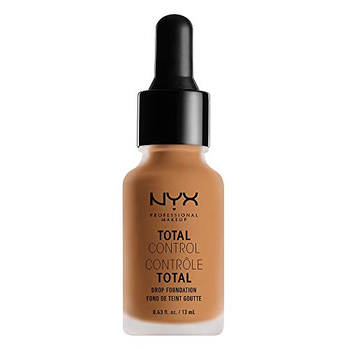 NYX PROFESSIONAL MAKEUP Total Control Drop Foundation - Camel, Medium Light With Olive Undertone