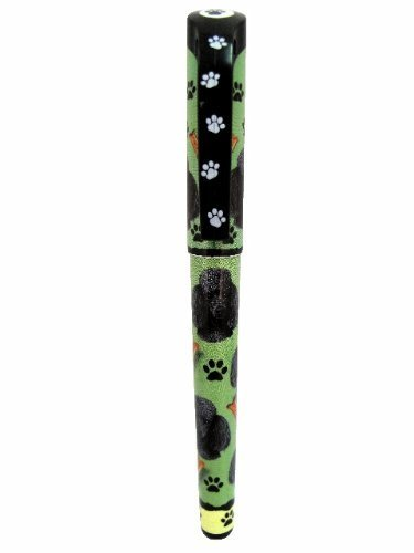 schwarz Poodle Poodle Poodle Pen Easy Glide Gel Pen, Refillable With A Perfect Grip, Great For Everyday Use, Perfect schwarz Poodle Gifts For Any Occasion by E&S Imports, Inc B018OI8KM4   Moderne und stilvolle Mode  8573f2