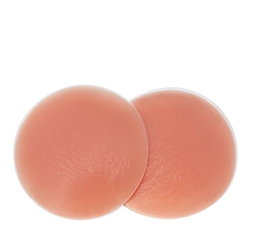 SodaCoda Women's 360g/pair - Round Soft Silicone Pads - for Bum Butt Push Up - Beige