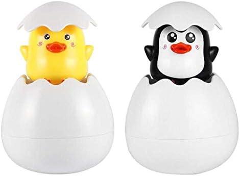 Lovely Kids Baby Bathing Toy Duck Penguin Water Spray Sprinkler Bath Swimming