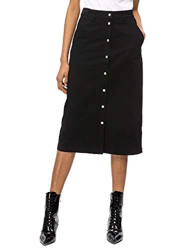 Femmes Calvin Noir J20j208502 Klein Jupe 1nnvxtr